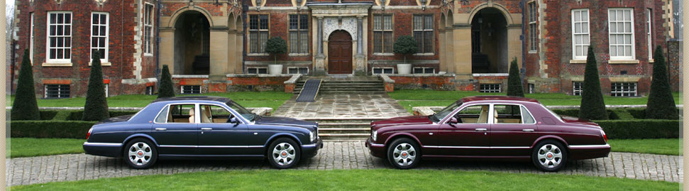 Chauffeur driven cars for business or wedding car hire